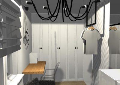 Elegancki pokój dla nastolatki