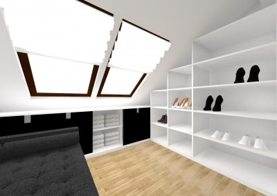 Projekt Garderoby 1