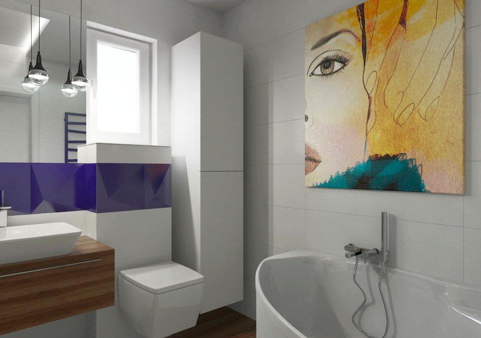 Fototapeta w łazience – design czy kicz?